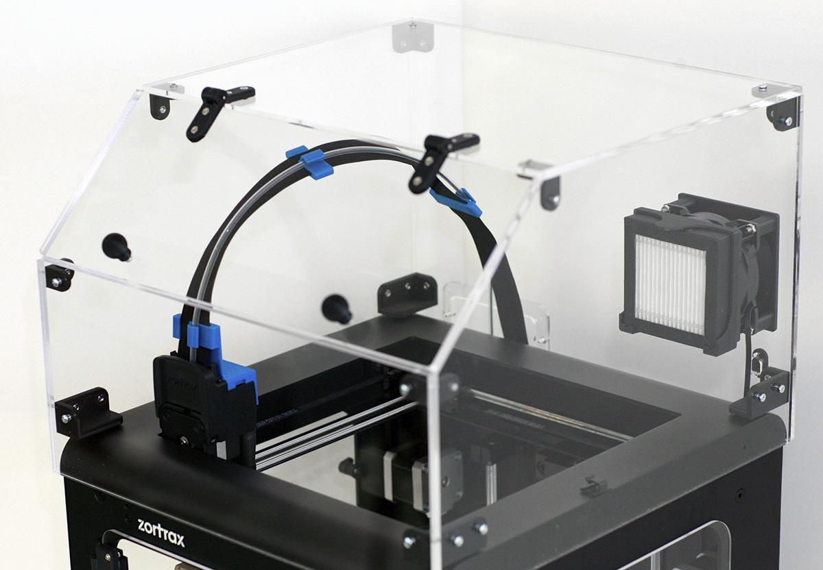 Capot pour imprimante 3D Zortrax m200