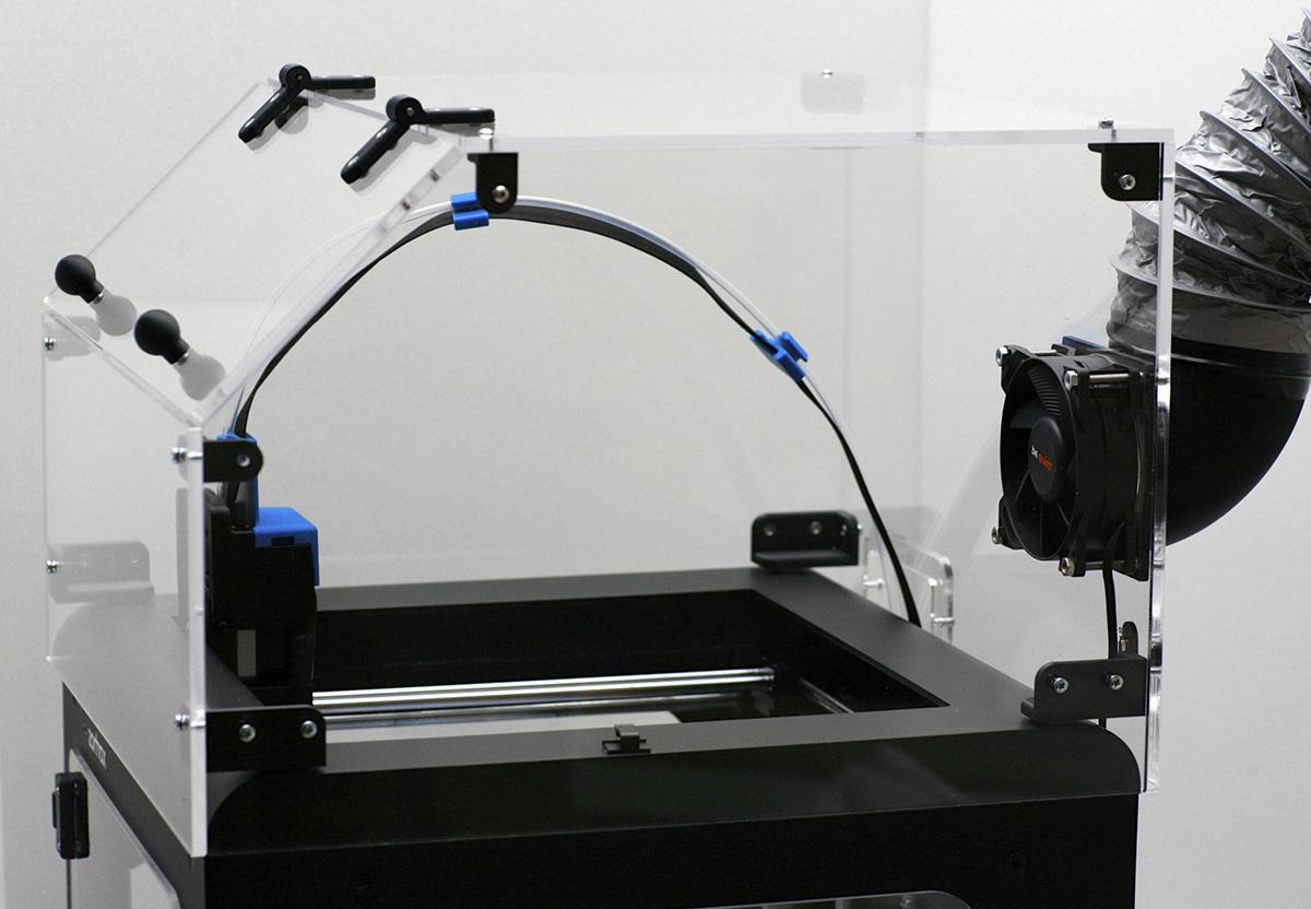 Capot pour imprimante 3D Zortrax