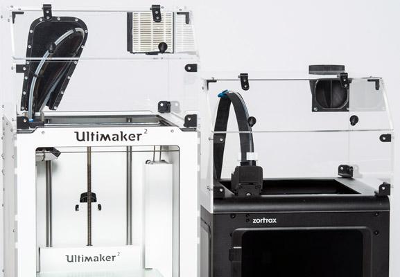 Capot pour imprimante 3D