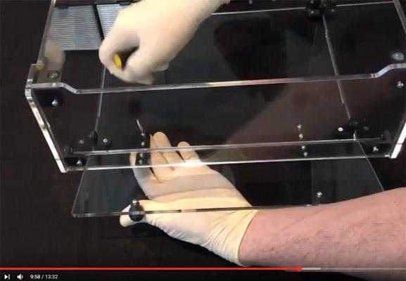 Montage facile du capot pour imprimante 3D