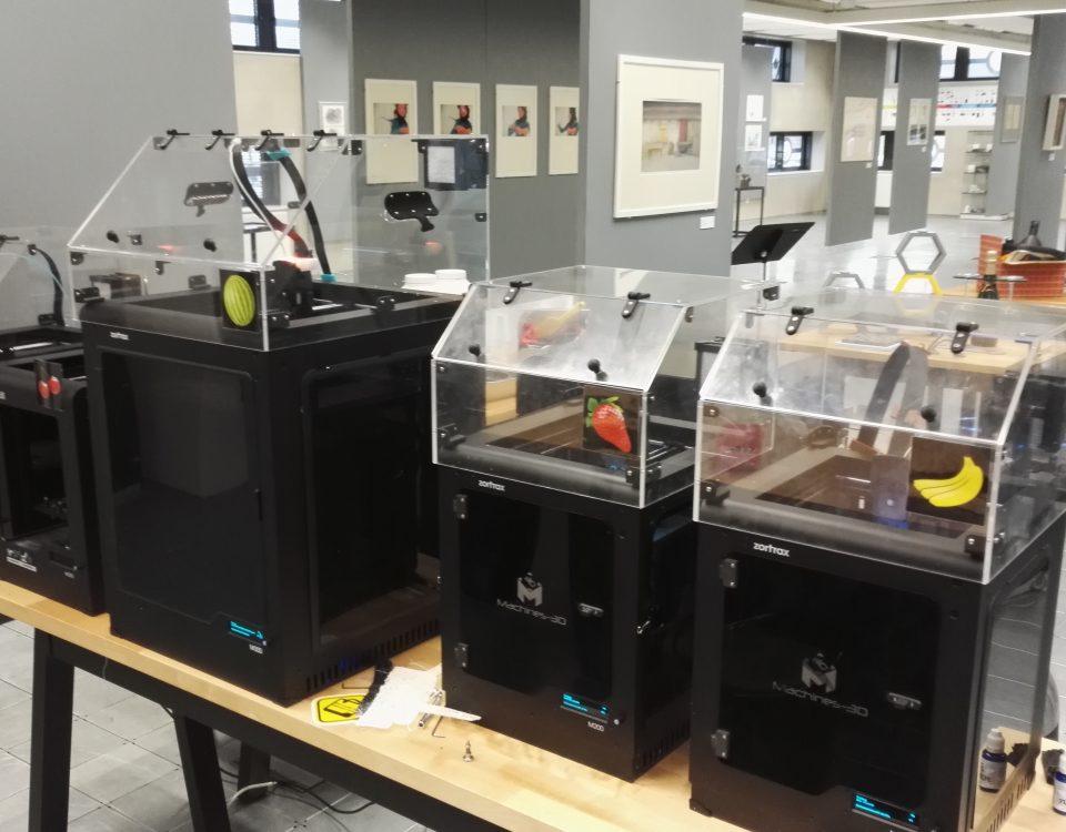 Zortrax m200 m300 et capots Accante chez Machines-3D