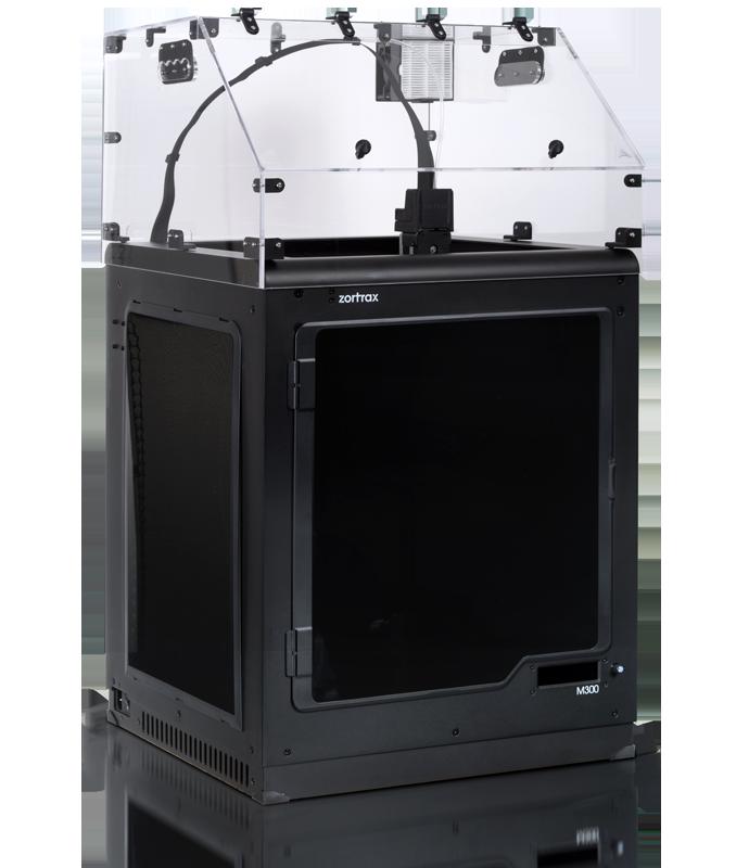 Capot de protection pour imprimante 3D zortrax M300